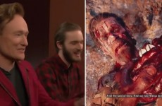 Conan Plays Far Cry Primal With PewDiePie