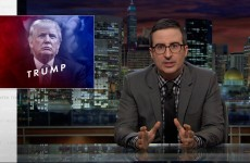 John Oliver Discusses Donald Trump