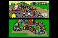 Mario Kart With 101 Different Video Game Characters