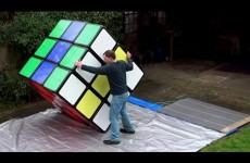 Tony Fisher's Largest Rubik's Cube In The World !!