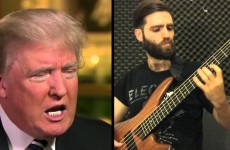 Guy With A Bass 'Covers' Donald Trump Saying China Montage