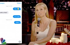 Gwyneth Paltrow And Jimmy Fallon Recreate Romantic Text Convo