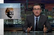 John Oliver On The Border Wall