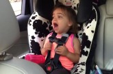 Little Girl Covers Bohemian Rhapsody In The Car To The Best Of Her Abilities