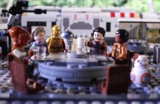 The Force Awakens In Lego