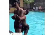 German Suplex Your Friends Into Swimming Pools