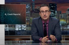 John Oliver On Credit Reports