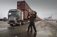 Poor Volvo Truck Made To Pull 750 Tonnes