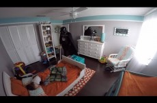 Dad Wakes Up Toddler Son Dressed As Darth Vader
