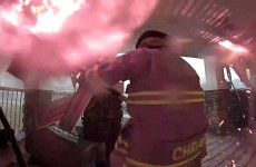 Doorbell Cam Records As Firefighters Battle To Save House
