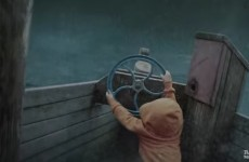Kid's Imagination While Playing On Boat Comes To Life