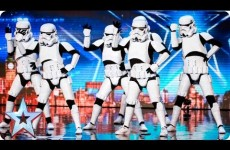 Storm Troopers Dance To Pop Songs On Britain's Got Talent