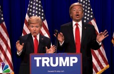 8th Grader Impersonate Donald Trump And Little Donald