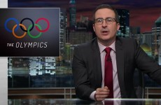 John Oliver On Professional Sports Doping