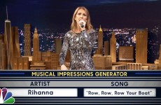 Celine Dion Sings Musical Impressions