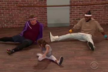 Jason Derulo And James Corden Dance With A Toddler As Their Instructor