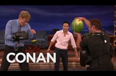 Conan Does Some Martial Arts And Fights A Watermelon