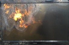 what-happens-when-you-blowtorch-a-tv