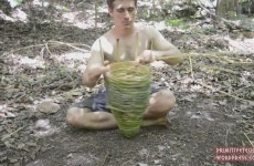 primitive-technology-shrimp-trap