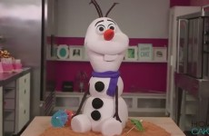 amazing-cake-olaf-from-frozen