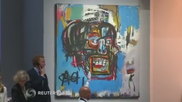 The Basquiat Portrait That Sold For A Record $110.5 Million!!
