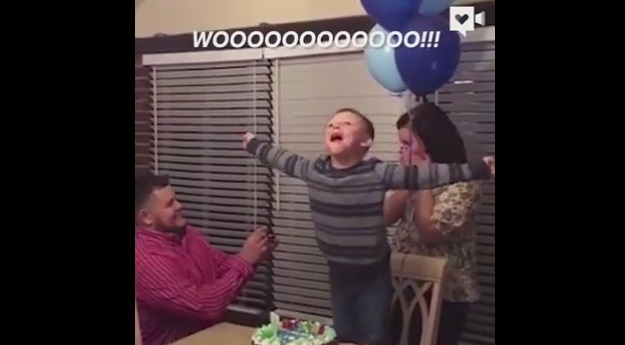 Birthday Boy's Wish For Parents to Marry Finally Comes True