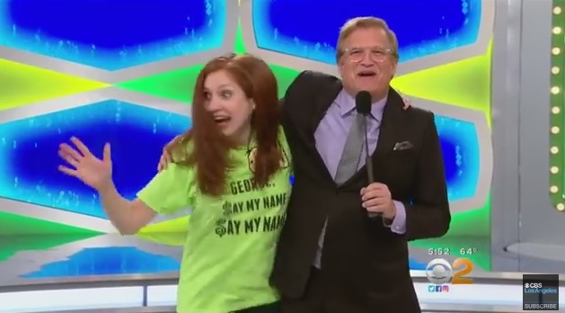 Overly Excited 'Price Is Right' Contestant Knocks Down Host Drew Carey!