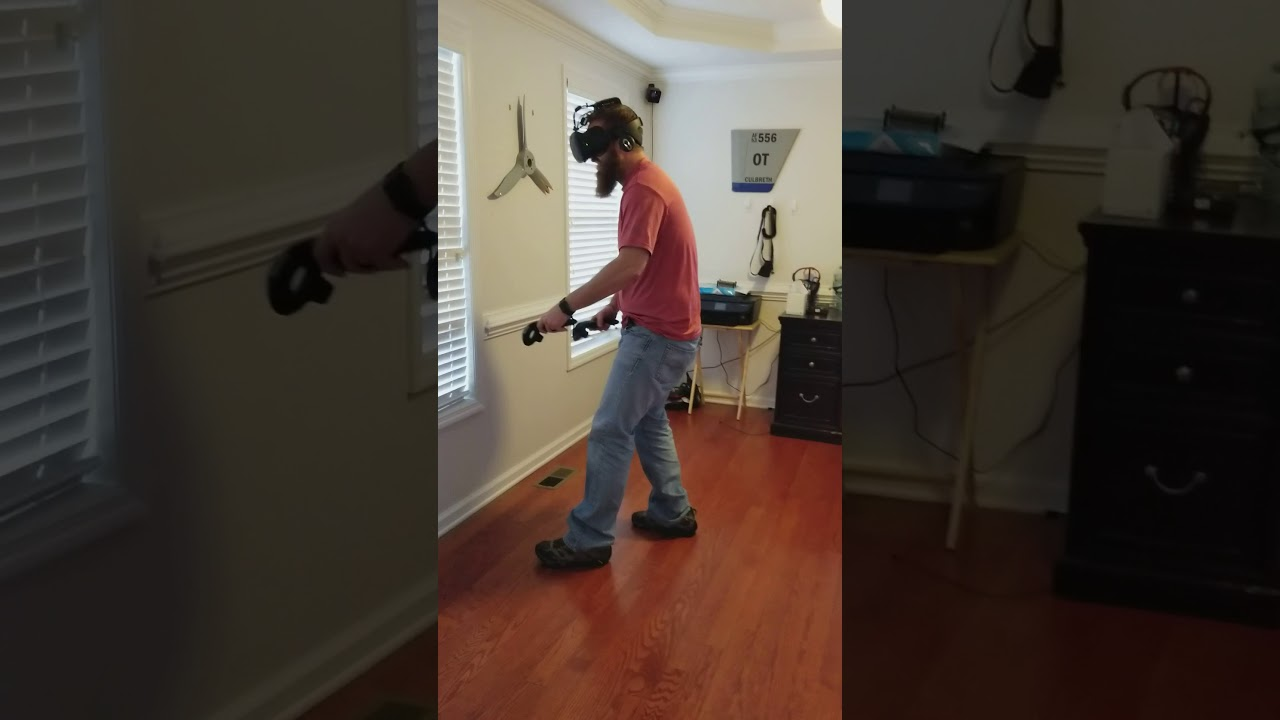 When VR is Too Immersive