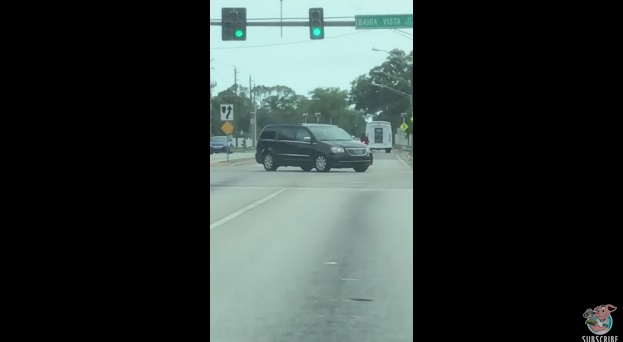 Driver Crashes into Motorcycle During Sarasota Road Rage
