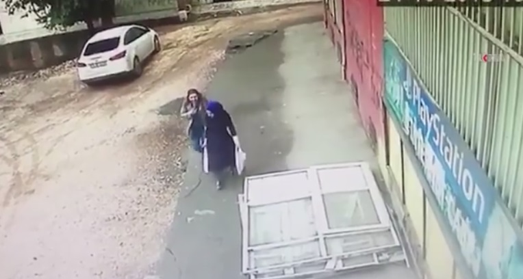 Two Women Share A Joke Then The Unexpected Happens