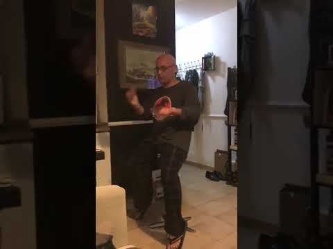 Magician's Card Trick Interrupted By Knock At Back Door