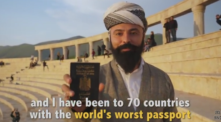 Traveling with the World's Worst Passport