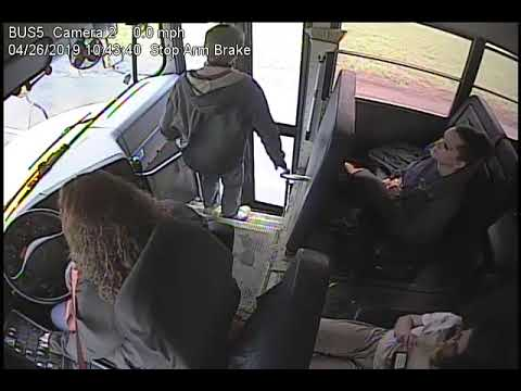Quick Acting Bus Driver Saves a Student's Life