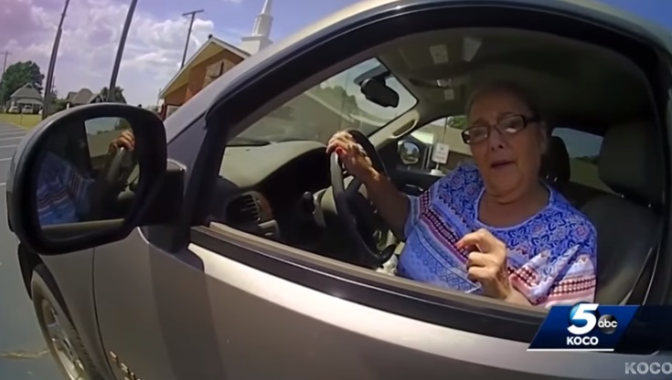 Woman Becomes Aggressive With Officer After Refusing to Sign Ticket