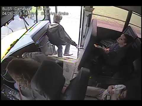 Fast Acting Bus Driver Saves Kids Life