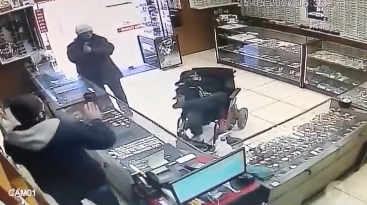 Who Said Disabled People Can't Rob You!?