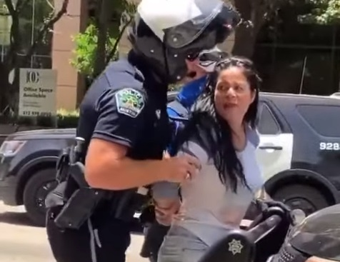 Horribly Perverted Cop Caught Feeling Woman While Pat Down