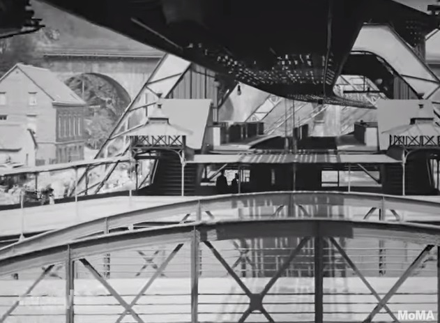 """The 1902 Clip Of Germany's """"Flying Train"""""""