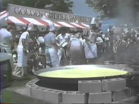 The Biggest Pancake Flip Ever From Way Back In 1985!