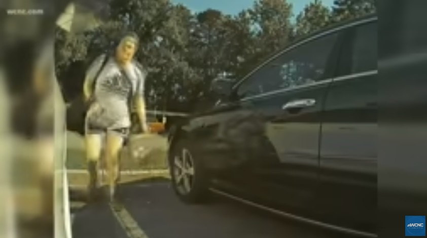 Woman Caught Keying A Tesla On Camera!